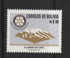 Bolivia 1992, Rotary Club 1v Mnh - Bolivia