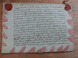 N13 : TRES RARE - ANCIEN TESTAMENT L'AN ONZE DE LA REPUBLIQUE FRANCAISE - Acciones & Títulos