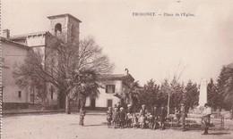 Thoronet (Var) - Place De L'Eglise - France