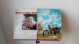 Coupure De Presse Moto Harley Davidson SS 175 De 1976 - Auto/Motorrad