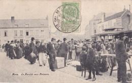 Mons Le Marché Aux Poissons Circulée En 1907 - Mons