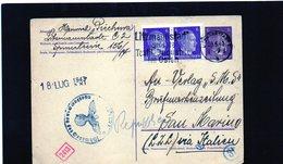 CG6 - Germania - Cartolina Postale Da Litzmannstaadt 29/6/1943 Per Rep. San Marino - Deutschland