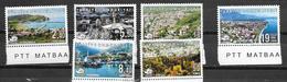TURKEY, 2019, MNH,DEFINTIVES, ARCHITECTURE,MOSQUES, LANDSCAPES, MOUNTAINS, 6v - Moscheen Und Synagogen