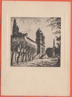 Cartoline - Tematica - Illustratori - Pittore Laurenzio Laurenzi - Roma - Trinità Dei Monti - Not Used - Illustratori & Fotografie