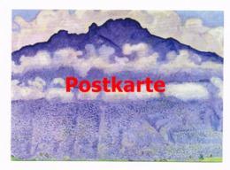 108 Ferdinand Hodler Andey-Gipfel Haute Savoie  Künstler - Künstlerkarten