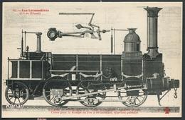 Les Locomotives (Cie De L'Ouest) - Machine Système Antée, Type 031 - F. Fleury N° 41 - Voir 2 Scans - Treinen