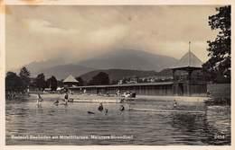 BADEORT SEEBODEN Am MILLSTATTERSEE AUSTRIA~MEIXNERS STRANDBAD~ 1937 FRANZ SCHILCHER PHOTO POSTCARD 43536 - Ferlach