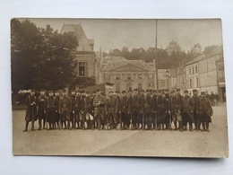 Foto Ak Soldats Militair Francais Regiment 9 Et ? City Inconnu ?Agen? - Guerre 1914-18