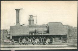 """Locomotives Du NORD - Machine-tender N° 520 """"Montescourt"""" Type 030 - Album Geoffroy 1856 - H. M. P. N° 297 - See 2 Scans - Trains"""
