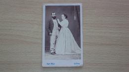 FOTO CARTONATA FOTOGRAFO PELI UDINE MISURA CM. 10,5 X 6,5 - Old (before 1900)