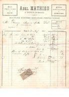 08 ARDENNES Moulin OSNES Près CARIGNAN MATTON PURE SACHY TETAIGNE MESSINCOURT - Historical Documents