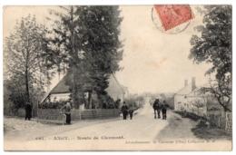 CPA 60 - ANGY (Oise) - 661. Route De Clermont (petite Animation) - Coll. M. B. - Frankrijk