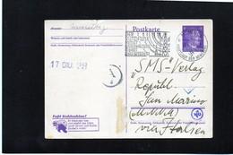 CG6 - Germania - Cartolina Postale Da Munchen 13/6/1943 Per Rep. San Marino - Germania