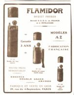 """PUB  BRIQUETS """" FLAMIDOR """"    1916  ( 10 ) - Andere"""