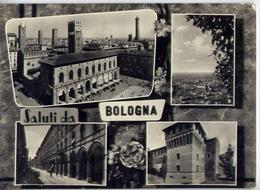 Saluti Da Bologna - Formato Grande Viaggiata Mancante Di Affrancatura – E 15 - Bologna