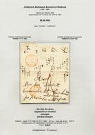 DDW 549 -- Lettre Non Affranchie TOURNAI 1852 Vers Mr Diericx , Burgemeester Tot TURNHOUT - Bélgica