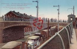 HERBESTHAL - Brucke über Die Bahnstrecke Cöln-Aachen-Brüssel-Paris - Carte Colorée Et Circulé Le 26-7-15 - Lontzen