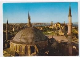 TURKEY  - AK 373117  Istanbul - The Blue Mosque And Saint Sophia - Turkey