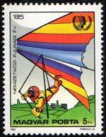 HUNGARY 1985 - INTERNATIONAL YOUTH YEAR - HANG GLIDING - MINT - Francobolli