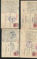 Belgien : Limburg Lanklaer Nice Lot Of 11 Postal Staionery , Fine To Very Fine , Censor Marks - Besetzungen 1914-18