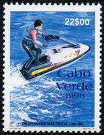 CAPE VERDE 1996 - WATER SPORTS - JET SKI - MINT - Francobolli