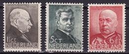 1936 Zomerzegels 3 Waarden Uit De Serie Postfris NVPH 283-284-285 - Ungebraucht