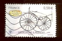 France 2011 - Oblitéré - Scanné Recto Verso - Y&T N° 4557 - Vélocipède à Pédales - France