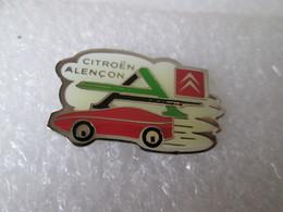 PIN'S   CITROEN   ALENCON - Citroën