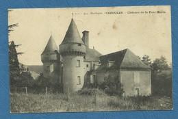 CAZOULES . Château De La Font Haute ( Ref 248 ) - Autres Communes