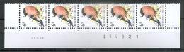 290 * BUZIN Datumstrook * Nr 2295 * 20-6-88 * Postfris Xx * HELDER WIT PAPIER - WITTE GOM - 1985-.. Vogels (Buzin)