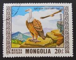 OISEAU RARES - GYPS FULVUS 1976 - OBLITERE - YT 851 - Mongolie