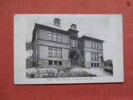 Third Ward School Connellsville Has RPO Cancel   Pennsylvania > 3881 - United States
