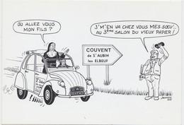 ST AUBIN LES ELBEUF 3e Salon Du Vieux Papier ( Religieuses Automobile Citroen 2 CV ...) - France