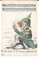 """Cpa """" Et Dire Qu'en 70 Cette Chanson Me Faisait Rire ! """" ( Bismarck ,si Tu Continues ....). - Humor"""