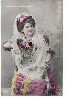 """L170A686 - - Portrait De Jeune Femme """"Mercédes Montfort"""" - VL Sevilla N°89/374 - Femmes"""