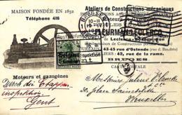 Brussel, Moteurs Et Gazogènes - [OC1/25] Gen.reg.