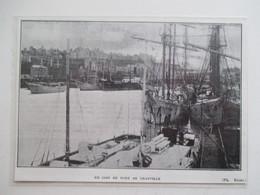 (Année 1926) Manche - GRANVILLE  - Grands Voiliers 3 Mats - Ancienne Coupure De Presse - Historical Documents