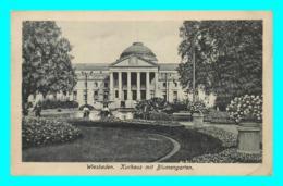 A746 / 019 WIESBADEN Kurhaus Mit Blumengarten ( Timbre ) - Wiesbaden