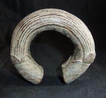 Bracelet D'Esclave Africain En Bronze 19ème Siècle - Réf, 2 - African Art