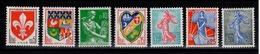 YV 1230 à 1234A N** 1960 Cote 11 Eur - France