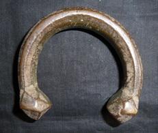 Bracelet D'Esclave Africain En Bronze 19ème Siècle - Réf, 5 - African Art
