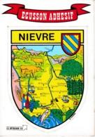 ECUSSON ADHESIF NIEVRE REF 62629 - Francia