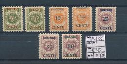 LITHUANIA MEMEL YVERT 149/155 LH - Lituanie