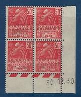 """FR Coins Datés YT 272 Type I """" Expo Coloniale Paris 5c. Rouge """" Neuf** Du 30.12.1930 - 1930-1939"""