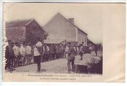 52 Prez Sous Lafauche - La Route Nationale Pendant L'appel - Guerre 1914-1915 - Ed: Catala - Autres Communes