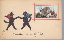 Amitiés De Gibles Oblitération Gibles 1959 - Autres Communes
