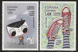 2020-ED. 5380 Y 5381 -COMPLETA - DISELLO - NUEVO- - 1931-Hoy: 2ª República - ... Juan Carlos I