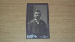 FOTO CARTONATA FOTOGRAFO ATELIER N. BAKER  LUNDENBURG Břeclav REPUBBLICA CECA MISURA CM. 10,5  X 6,5 - Old (before 1900)