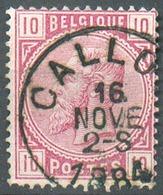 N°38 - 10 Centimes Rose, Obl. Sc CALLOO 16 Nov. 1884 - 15147 - 1883 Léopold II