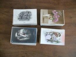 Lot De Cartes Postales Anciennes Fantaisies - 100 - 499 Postcards